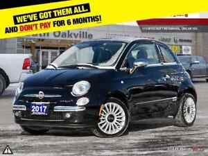 2017 Fiat 500c Lounge | BLUETOOTH | CONVERTIBLE | AUTO