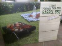 BBQ portable barrel