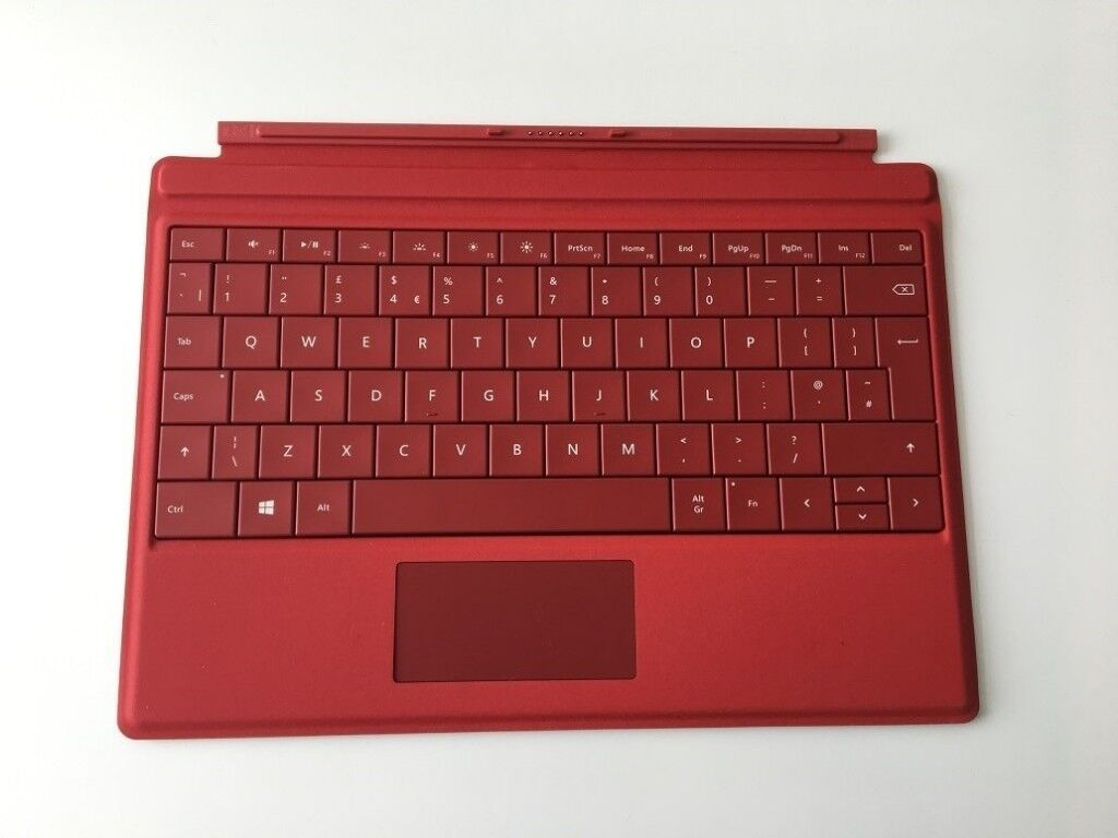 Microsoft Surface 3 Type Cover Keyboard Laptop UK Keyboard Layout Genuine  Excellent Condition | in Beckton, London | Gumtree