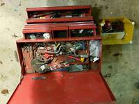 Sold Now -, Britool tool box and a few tools
