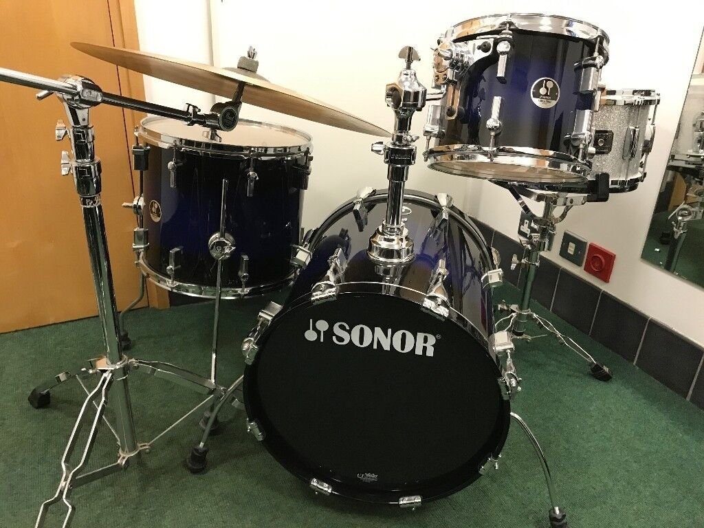 a396c2035ecd Drum Kit (Sonor Maple Force 3007 Jungle Kit) + Cymbals, Hardware and  Accessories   in Oxford, Oxfordshire   Gumtree