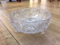 Decorative Crystal Glass Bowl