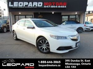 2015 Acura TLX Tech,Navigation,Camera,Lane Assist*No Accident*
