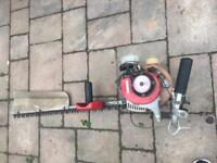 Kawasaki petrol hedge trimmer