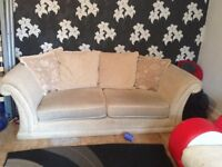 3 seater and brand new armchair