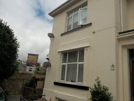 Refurbed 2 Bedroom Ground Floor Flat. Central Paignton. GCH. DG. WiFi. Garden. Pets OK. No Agent Fee