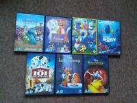 Huge children's DVD selection