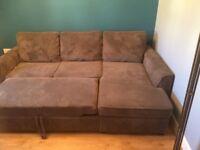Corna Chaise Storage Sofa Bed