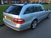 For sale Mercedes E Class E320 Avantgarde Diesel automatic leather heated seats full-service history