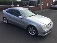 2005 MERCEDES C220 CDI SPORT EDITION AUTOMATIC COUPE RARE IN THIS MODEL