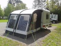 Kampa Rally Pro 260 caravan awning.