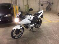 honda cbf 125 white