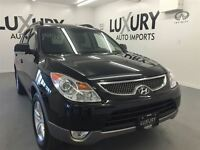 2010 Hyundai Veracruz GLS ,LEATHER ,SUNROOF ,7 PASS,ONLY 62K