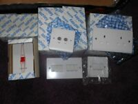Ashley sockets £1 each & cooker switches £2 each