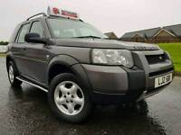 July 2005 LandRover Freelander SE 2.0 Td4 AUTOMATIC 4x4 LWB SW, HALF LEATHER! VERY LOW MILES! FSH!