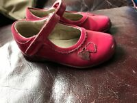 Girls Clarks light up shoes