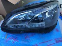 MERCEDES E CLASS W212 2015 GIUNUE LH&RH LED XENON HEADLIGHTS