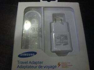 Samsung Adaptive Fast Charging Micro USB Wall Charger. Fast Charger. Samsung Galaxy S6, S7, edge. Tablet. Smart Phone