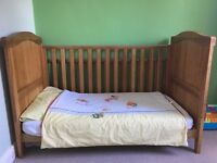 Mamas and papas cot bedding