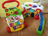Duo activity baby gym and first steps-baby walker