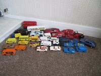Matchbox, Corgi and Corgi Junior model cars