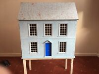 Dolls House with external decoration, ideal Xmas present and 1st model dolls house.
