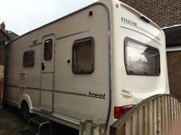 Details about Sterling Eccles Jewel Caravan 2003 - (Motor mover, Awning, TV, Toaster, etc)