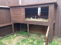 2 Tier Rabbit Hutch for sale