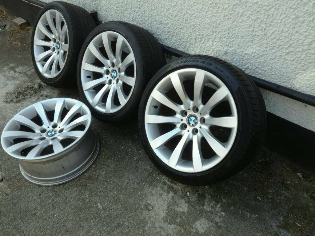 Bmw 6 series genuine 19 wheels