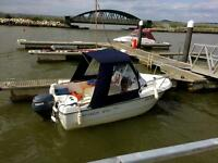 Beneteau Antares 450 family day fishing motor boat