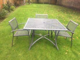 Worcester Seater Rattan Effect Garden Furniture Set In Norwich