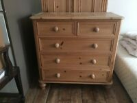 Chest of Drawers Solid Pine
