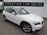 BMW X1 2.0 SDRIVE20D EFFICIENTDYNAMICS 5d 161 BHP (white) 2014
