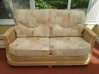 Conservatory 3-piece suite in excellent condition.