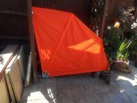 Orange garden privacy shade new