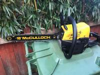 McCulloch Chainsaw Petrol mac540e evolution