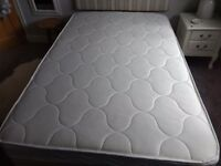 Small double ottoman bed. Used only once in guest room