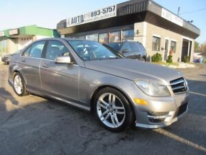 2014 Mercedes-Benz Classe-C C 300 (AWD, Sunroof, Leather, ect.)