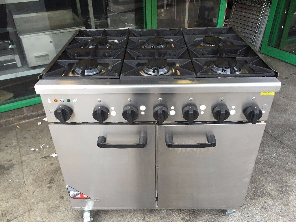 CATERING COMMERCIAL GAS COOKER OVEN CAFE KEBAB CHICKEN TAKE AWAY RESTAURANT BBQ KITCHEN BAR SHOP