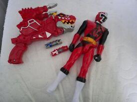 Power Ranger Dino T/Rex Supercharger