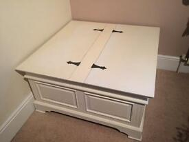 Shabby Chic Storage Trunk Chest