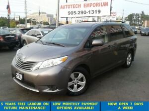 2015 Toyota Sienna LE 8 Pass. Camera/Pwr Doors/Htd Seats &GPS*