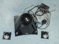 JBL Creature 2.1 speakers in black complete with power pack. Good condition. £20
