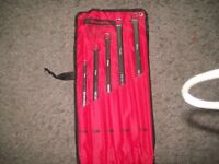 BRAND NEW EXTRA LONG RING SPANNER SET
