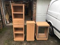 5 matching cabinet