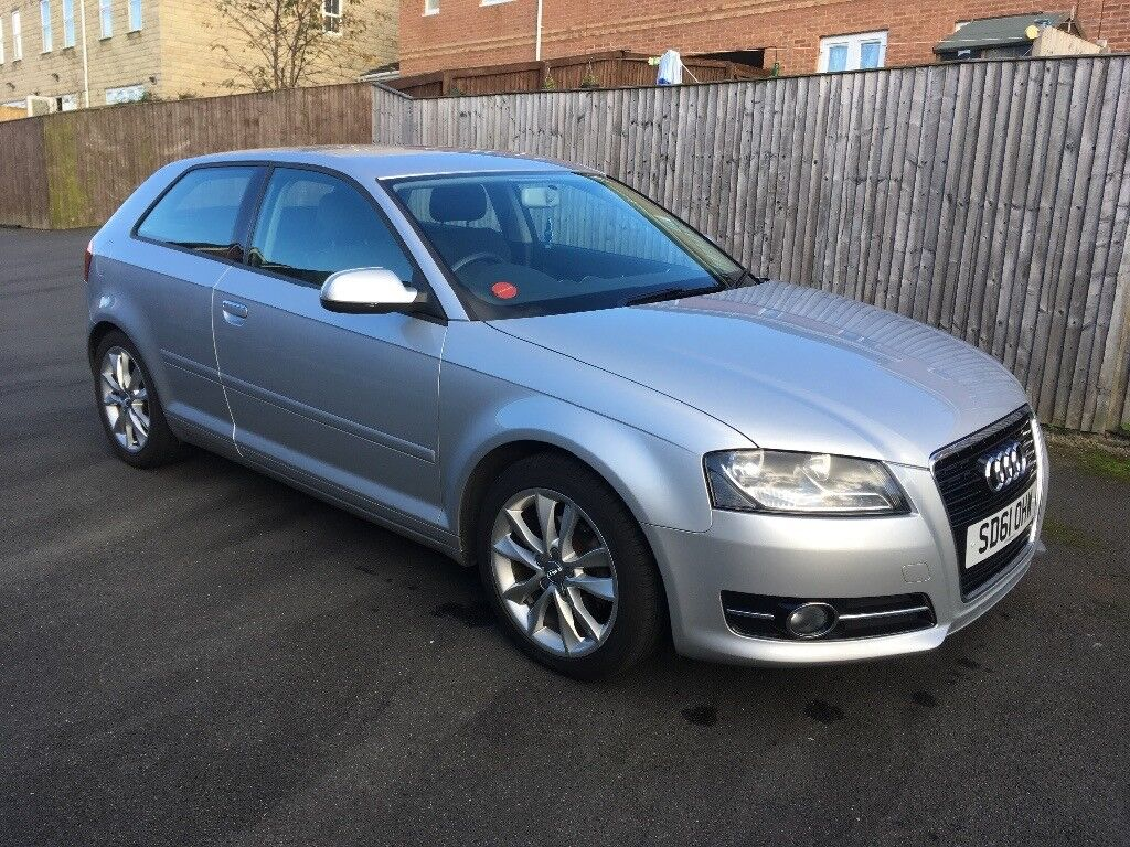 Audi A3 1.6 silver diesel full service history,