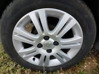 "Vauxhall Corsa genuine 15"" Alloy wheels"