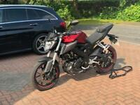Yamaha MT-125 Red ABS