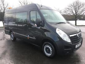 VAUXHALL MOVANO 2.3 F3500 L3H2 CREWCAB 150BHP ONE OWNER, CONTRACT (black) 2012
