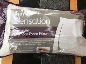 Sensaform sensation premium memory foam pillow
